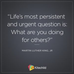 life's question quote mlk