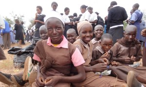 Photo: WASH United: Schoolgirls in Kenya on National Menstrual Hygiene Day