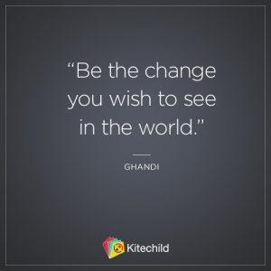ghandi change