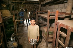 One of the children living at the LAMP home.