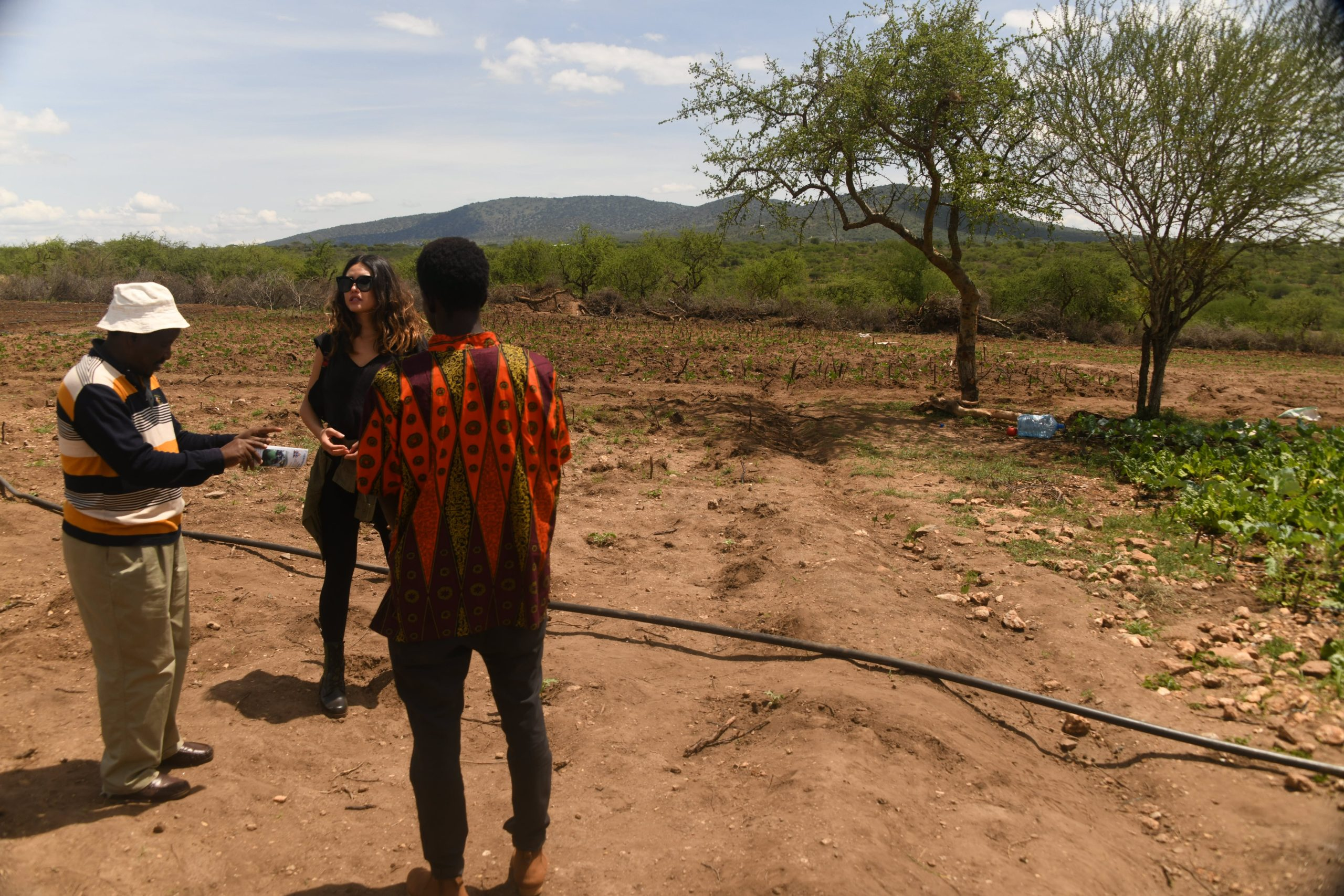 Plotting the expansion of the agricultural project and the Masai womens community learning program in Fall of 2019.