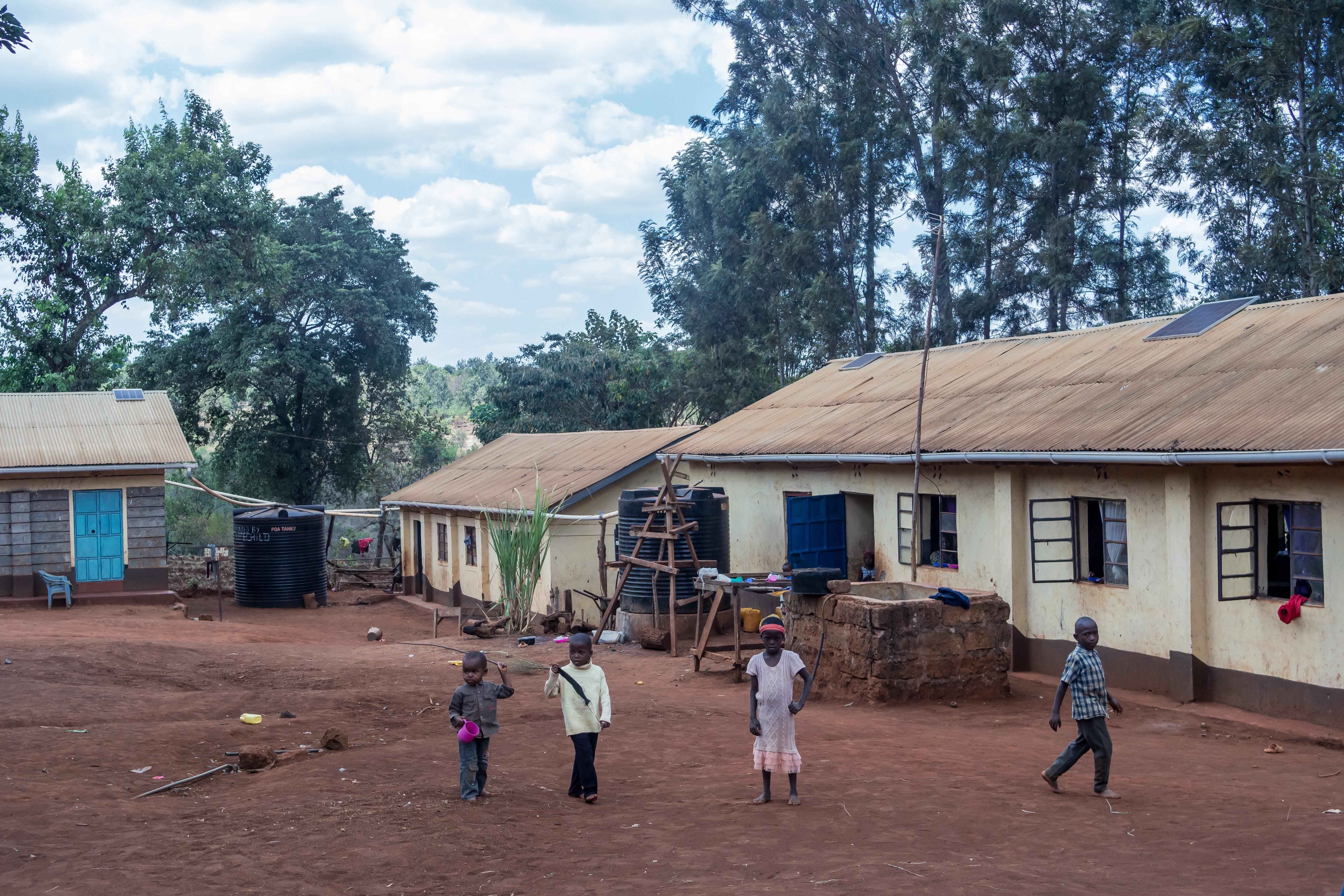 Solar Lighting at Tumaini Itugururu Children Centre